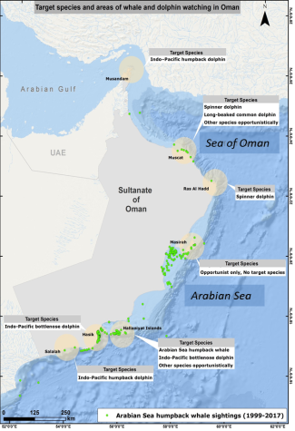 Oman WW map